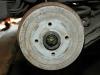Томозной барабан заднего колеса Chevrolet lanos