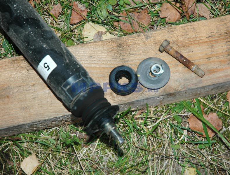 Втулка распорная заднего амортизатора lanos