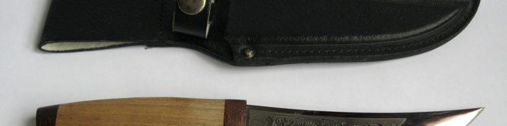 Нож Соболь - Златоустовской оружейной компании